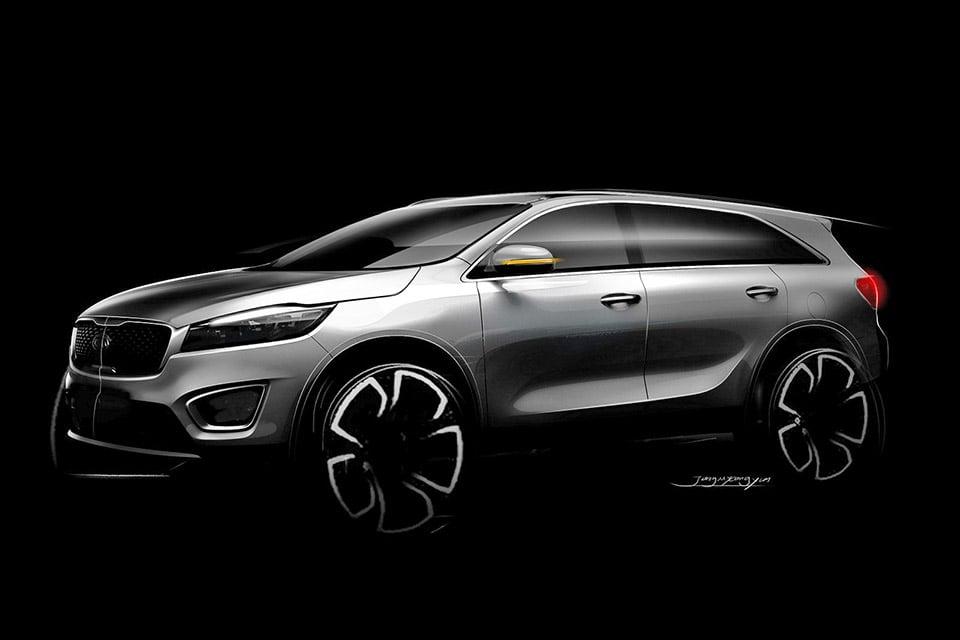 KIA Teases All-New KIA Sorento SUV