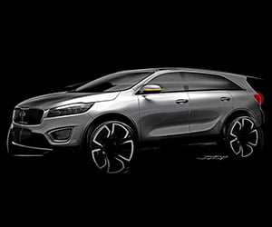 KIA Teases All-New KIA Sorento SUV