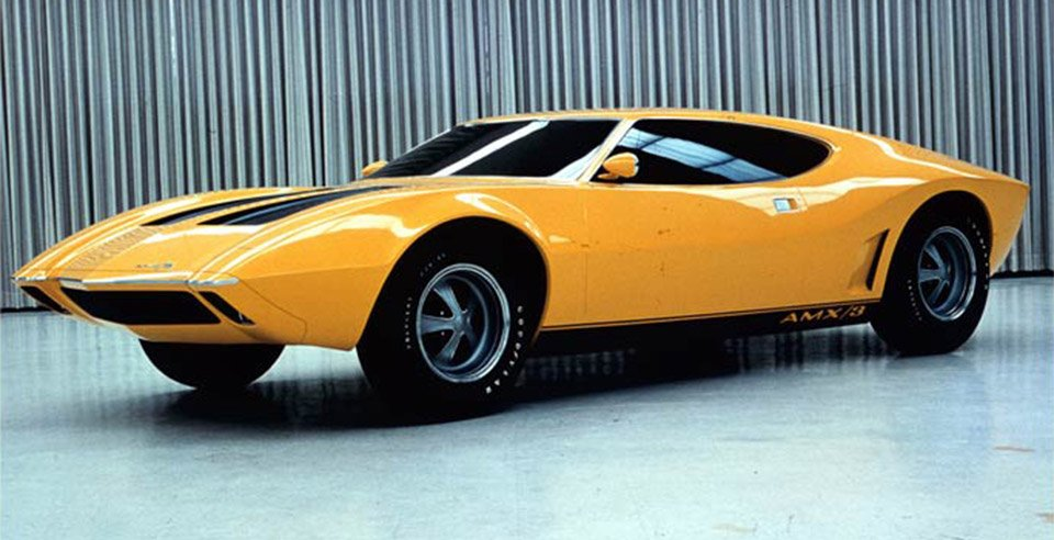 The 1970 AMC AMX/3 Was a Supercar from The Makers of the Pacer