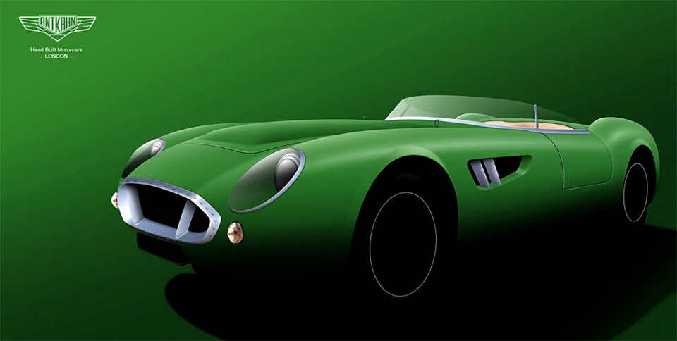 Ant-Kahn to Build Aston Martin Inspired Sports Car