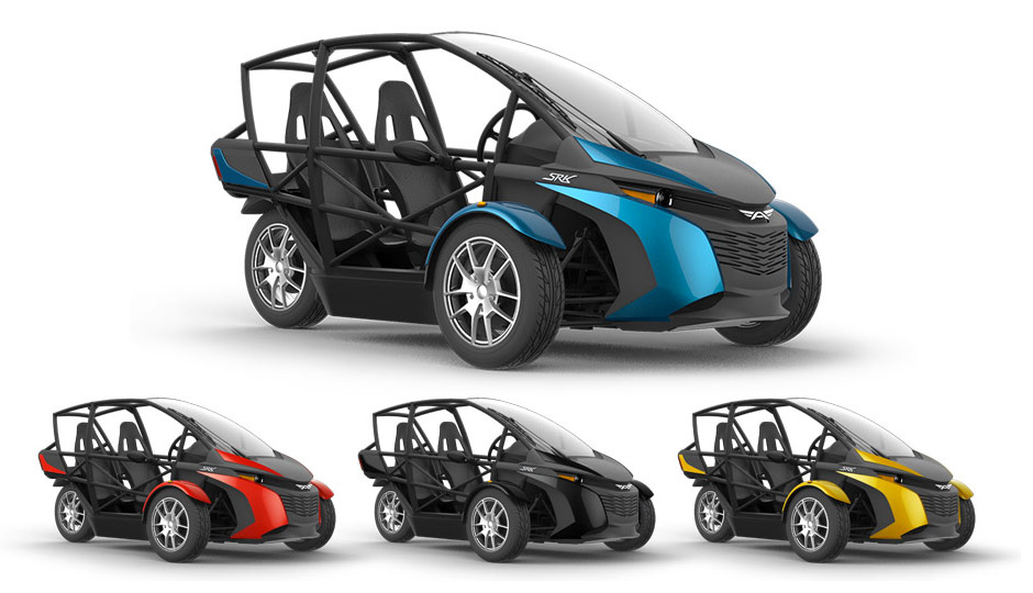 Arcimoto SRK Electric Car