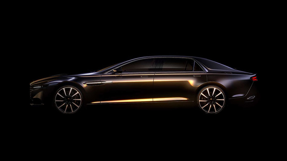 Aston Martin Lagonda: Mid-East only Super Sedan