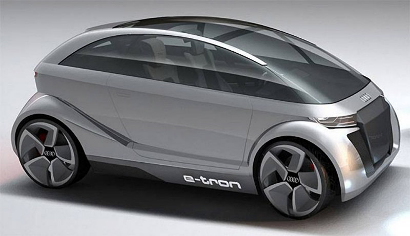 Audi A 2.0 e-tron Concept