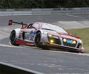 Audi and Felix Baumgartner Success at Nürburgring 24