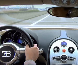 What's It's Like to Test Drive a Bugatti Veyron