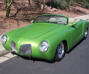 Tricked out '68 Karmann Ghia up for Sale