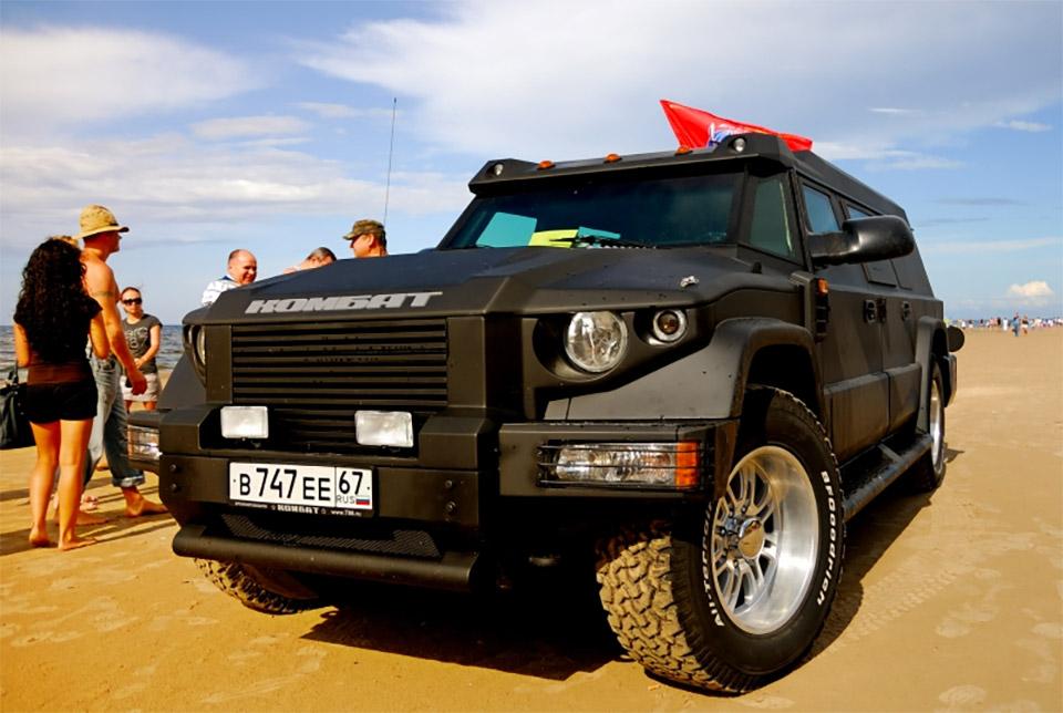 Dartz Prombron Armored SUVs - 95 Octane