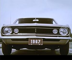 Designing the Original 1967 Chevrolet Camaro