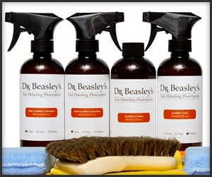 Win a Year of Dr. Beasley's Leather Care Products!