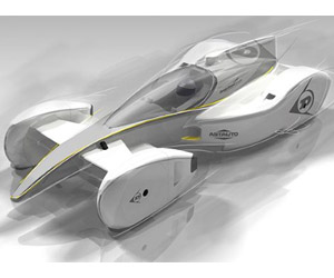 The Dunlop Race Car of the Future