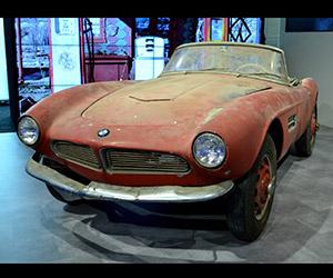 BMW Restoring Elvis Presley's 1957 BMW 507