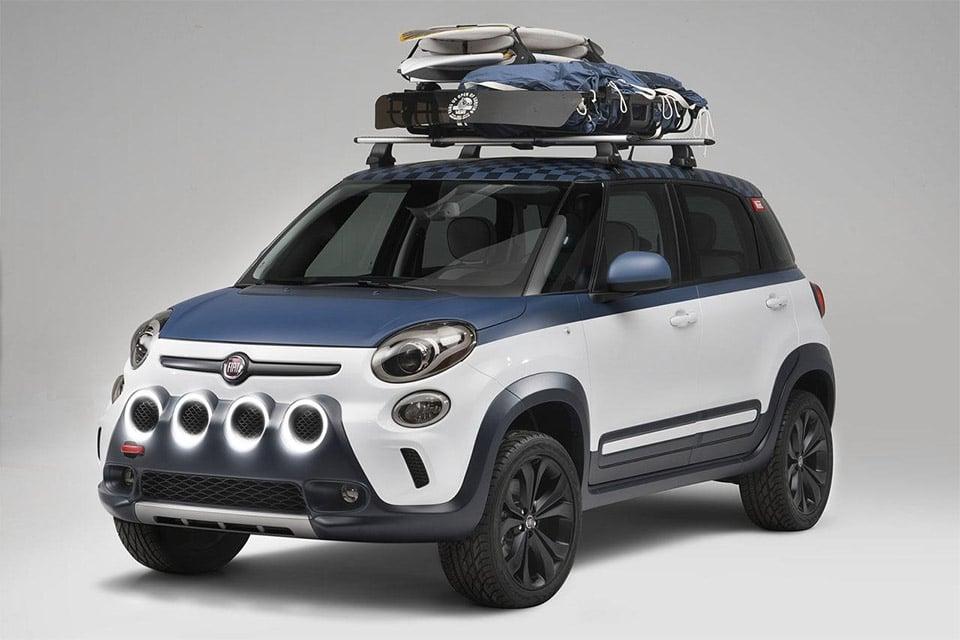 Fiat's 500L Vans Concept Built for Surfers - 95 Octane