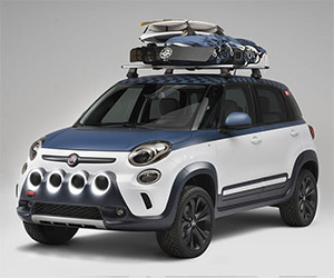 Fiat's 500L Vans Concept Built for Surfers
