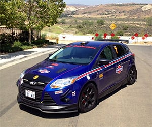 2012 Ford Focus with Martini Livery on Auction