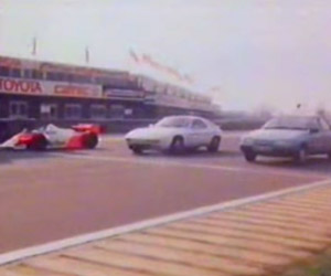 From the Vaults: F1 vs Road Car Showdown