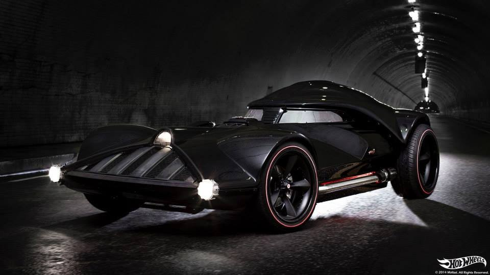 Hot Wheels Makes Full Size Darth Vader Car
