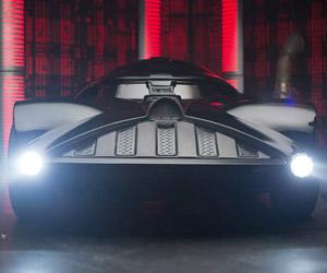Hot Wheels Makes Full Size Darth Vader Car
