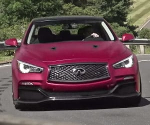EVO Drives the Infiniti Q50 Eau Rouge Prototype