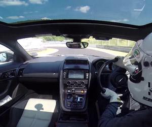 Jaguar F-Type Coupe R Nürburgring POV Lap