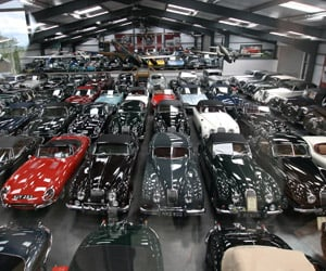 Jaguar Land Rover Scoops Collection of 543 Classic Cars