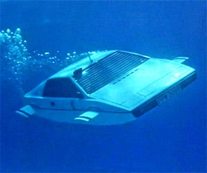 James Bond's Lotus Submarine for Sale on eBay