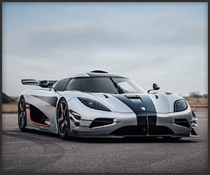 Shmee Rides in the Koenigsegg One:1