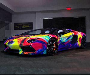 Lamborghini Aventador Art Car: Project Duaiv