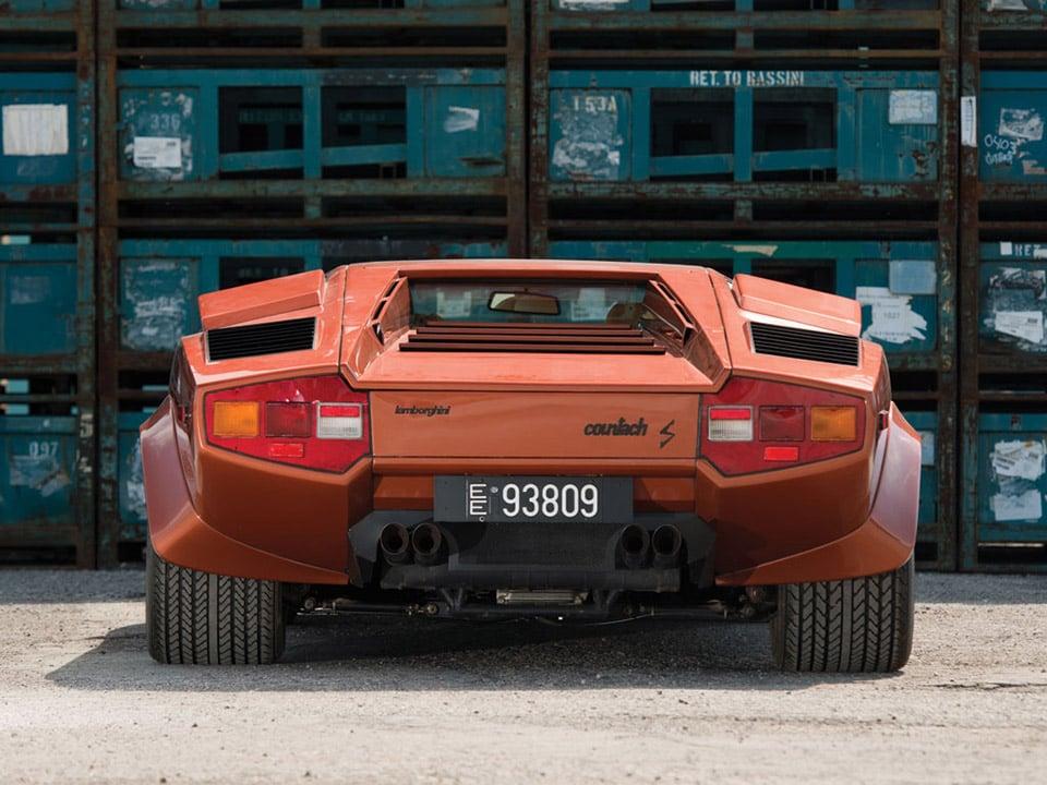 Lamborghini Countach Rear Tire Size Car Magazine