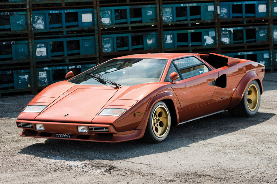 Lamborghini Countach LP400S Series 1 on Auction