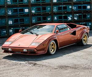 Lamborghini Countach LP400S Series 1 on Auction