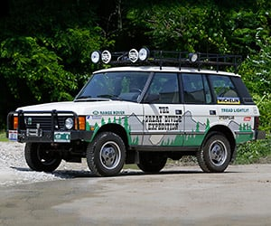 1990 Range Rover Great Divide Expedition Replica
