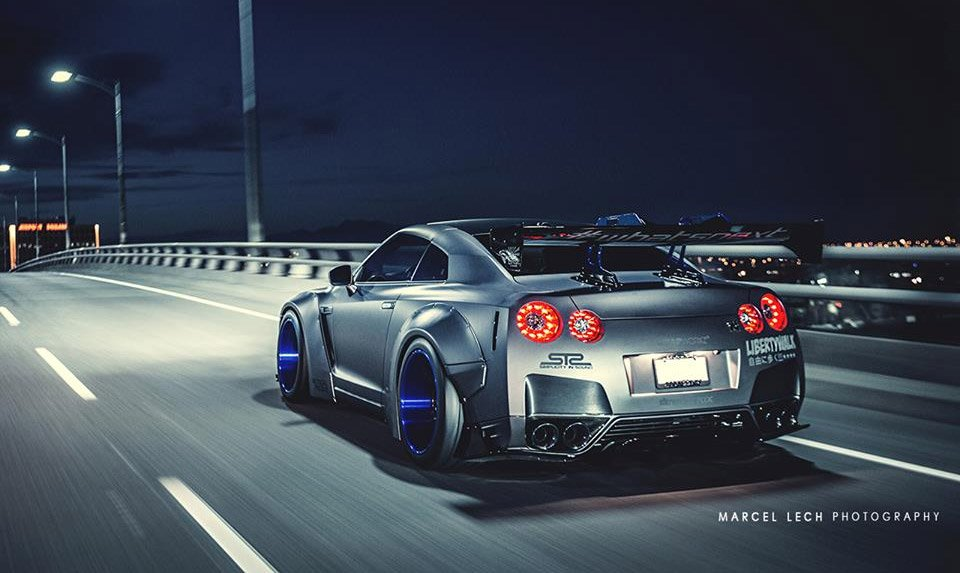 A Gorgeous Liberty Walk Wide Body Nissan GT-R