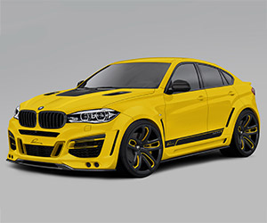 2015 Lumma Design BMW CLR X 6 R
