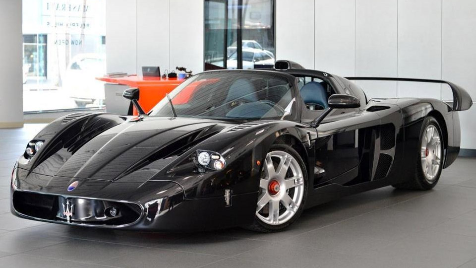 Rare Maserati MC12 Turns up on eBay