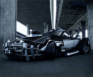Maybach Exelero Ready for the Zombie Apocalypse