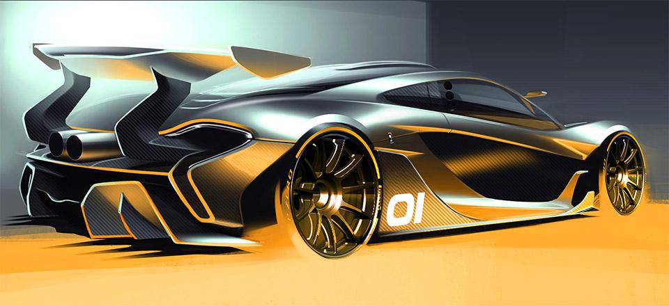 McLaren P1 GTR Concept Teased
