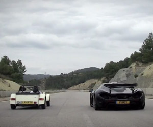 An Unfair Race: McLaren P1 vs. Caterham 160R