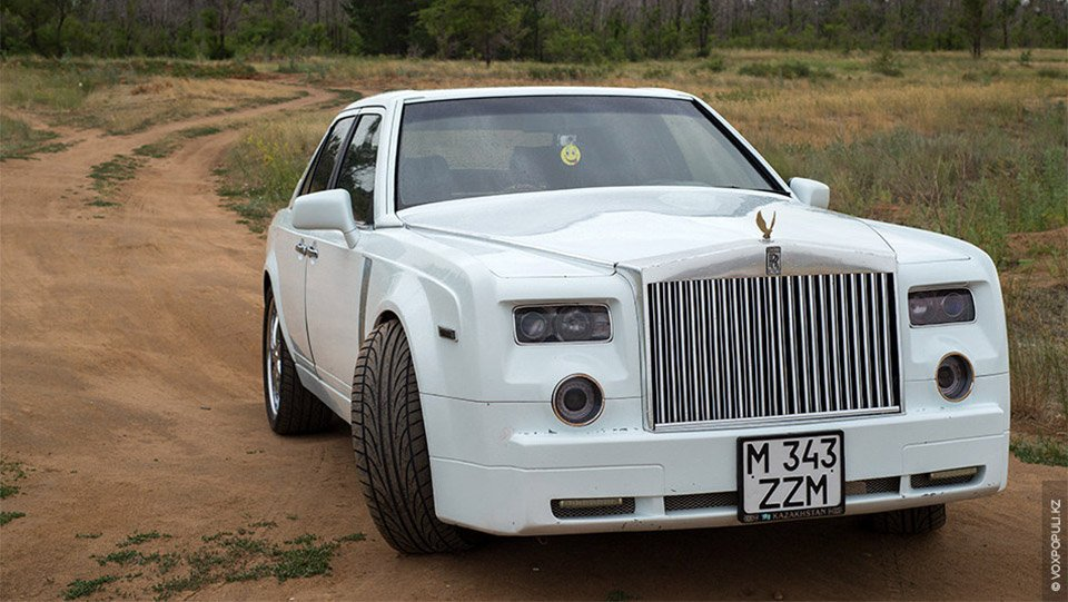 Guy Turns Mercedes Benz Into Rolls Royce 95 Octane