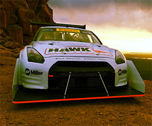 Mike Skeen Roars up Pikes Peak in a Nissan GT-R