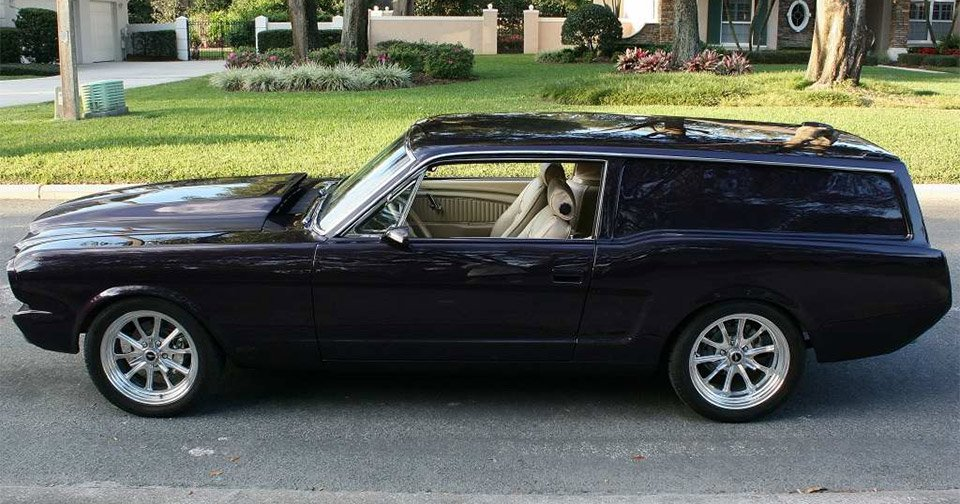 Ford Mustang Station Wagon Autos Post