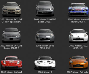 The History of Nissan Cars via Gran Turismo