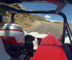 Romain Dumas' 2014 Pikes Peak Win POV