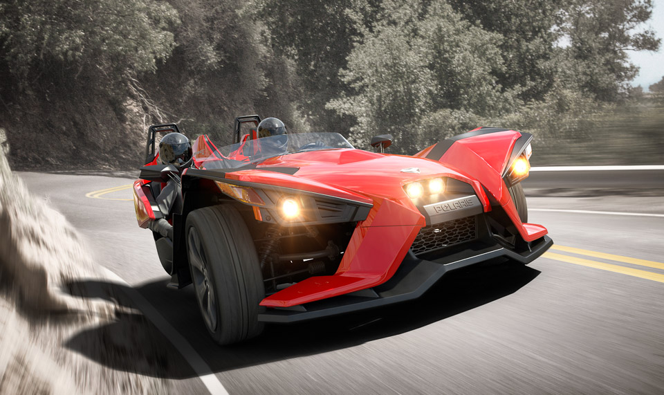 Polaris Slingshot: A Three-Wheeled Roadster