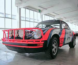 The Porsche 911 East African Safari Rally Racer