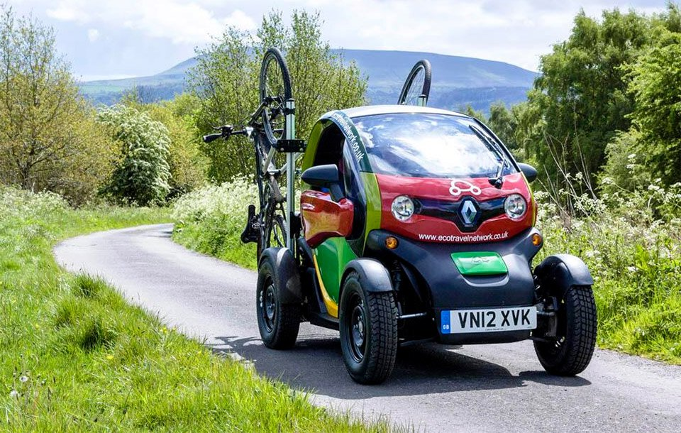 Renault Twizy Goes Off Road 95 Octane