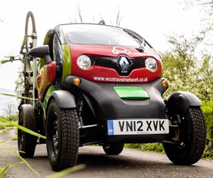 Renault Twizy Goes Off-Road