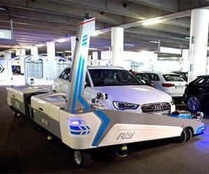 Robot Parks Your Car at Düsseldorf Airport