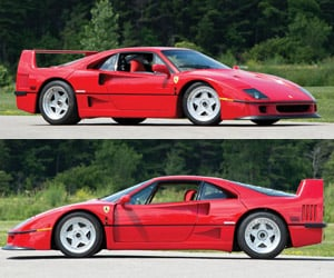 Rod Stewart's 1990 Ferrari F40 Hits the Auction Block