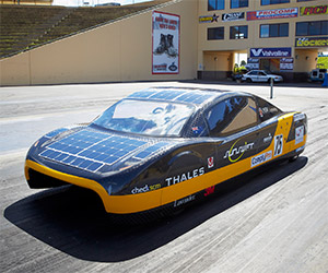 Australian Team Breaks Solar Car Speed Record