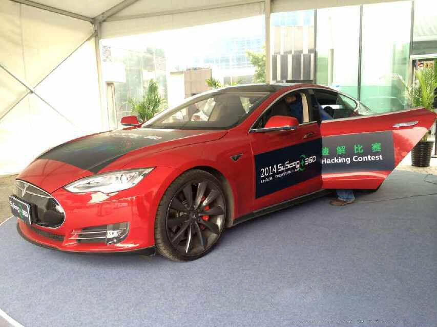 Hackers Succeed at Cracking the Tesla Model S